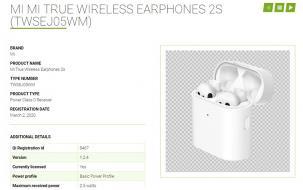 小米真無線藍牙耳機2S首度曝光 支持QI協議及無線充電功能