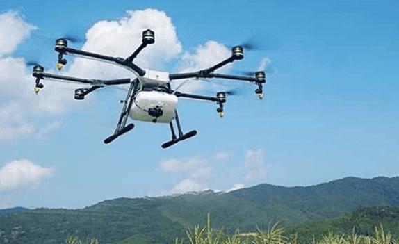 农民可用无人机施肥或喷药:科技来到农村