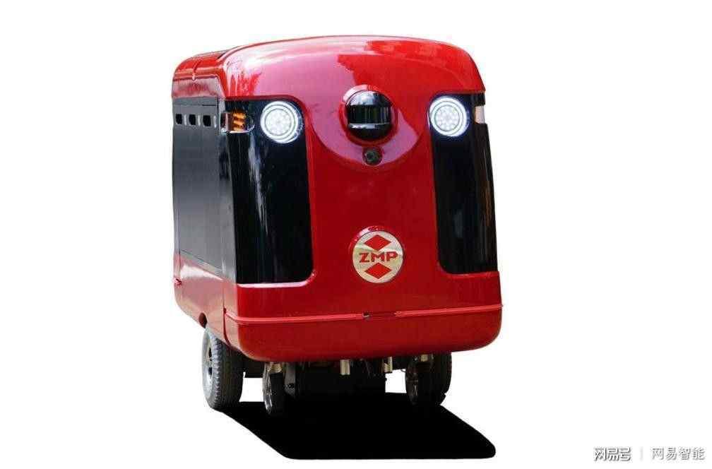 """日本机器人""""快递小哥""""将要出现在日本街头"""