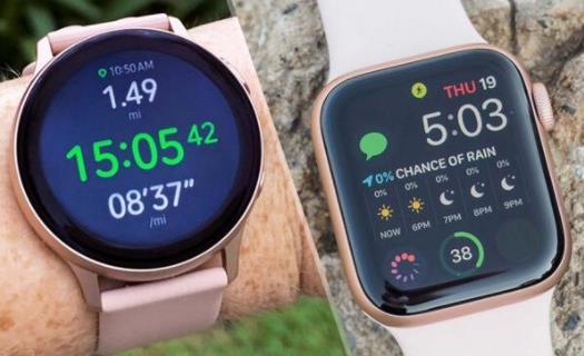 AppleWatchSeries5和三星GalaxyWatchActive2对比  谁才是当下最好的智能手表