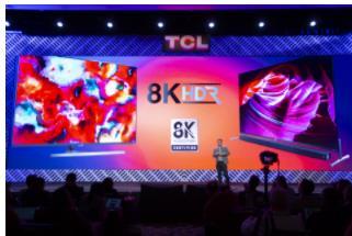 关注CES2020家电类黑科技 TCL带来8K电视X9及Mini LED等技术