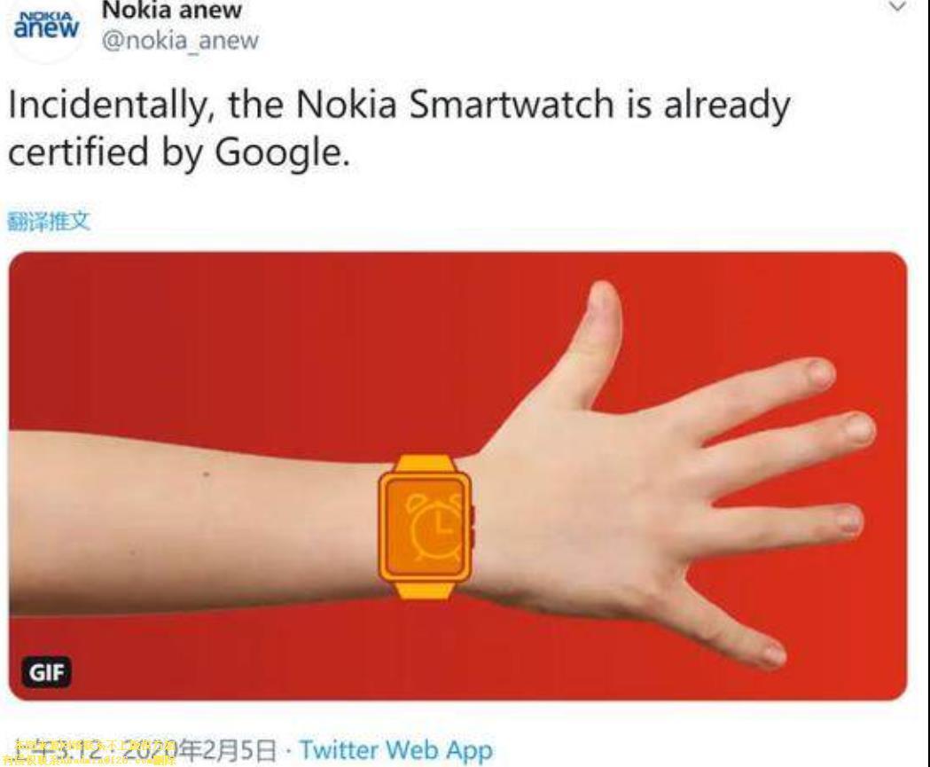 諾基亞動作不斷 繼智能電視之后有計劃推出智能手表