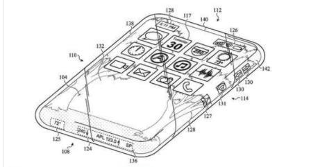 iPhone外殼的最新專利 渾身都是屏幕