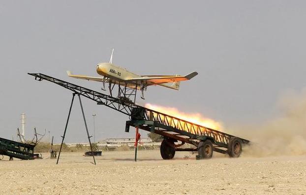 無人機在敘利亞領空墜地 伊德利卜叛軍高呼