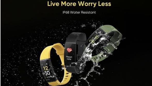 可進行無線充電的智能手環 還搭載九種運動模式