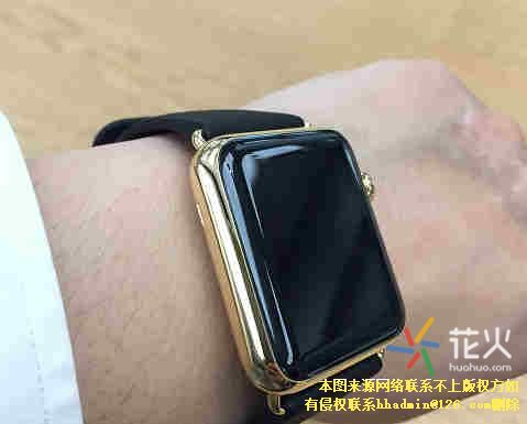 apple watch edition开箱
